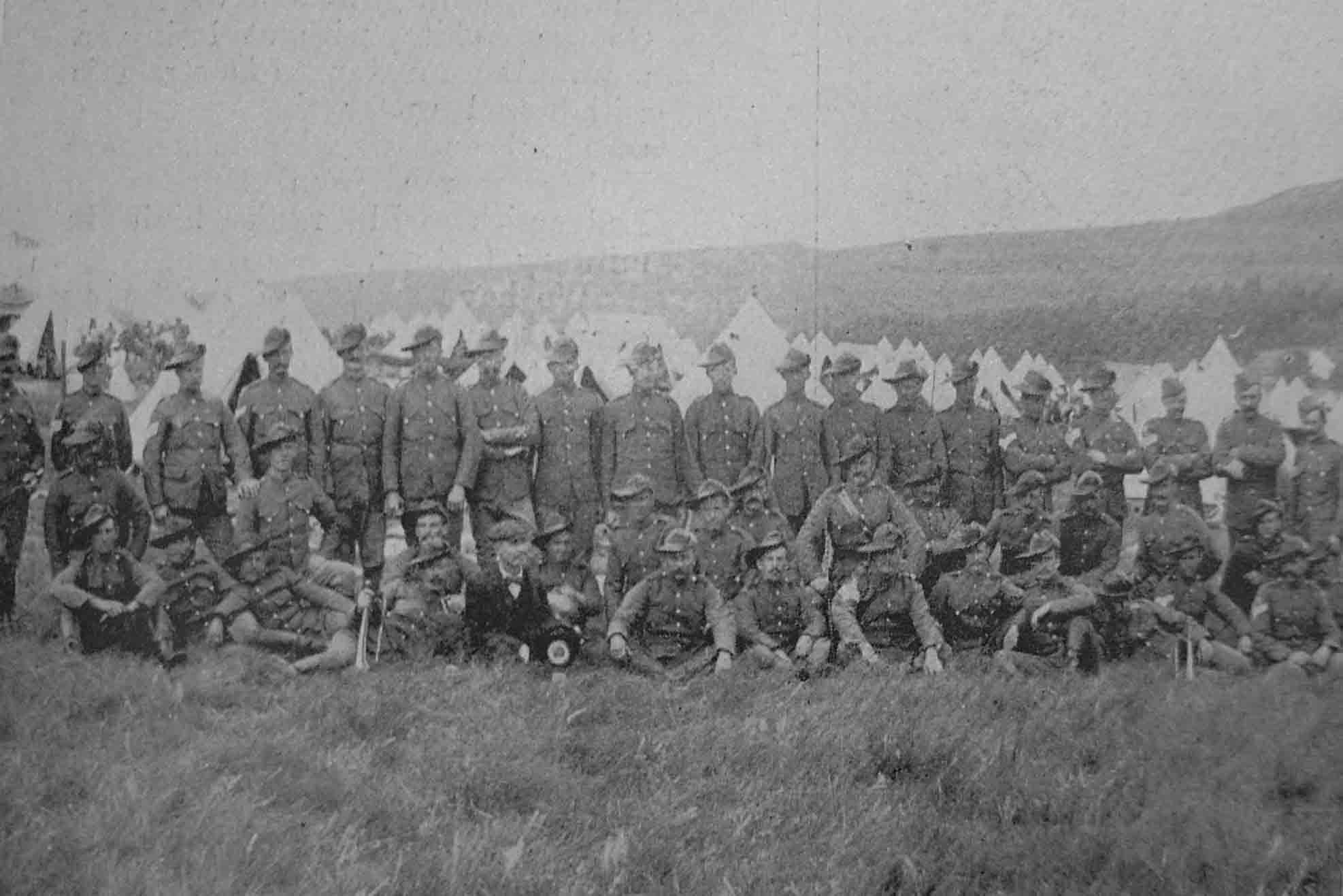 Art Prints 1899 Boer War Tugela Durban Light Infantry Bridge