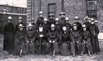 Lord and Lady Strathcona with officers